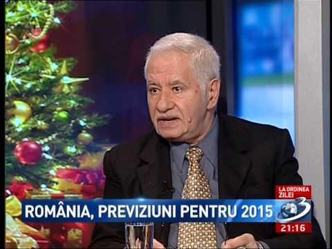Previziuni pentru 2015 pentru Romania cu  Lidia Fecioru si numerologul Mihai Voropchievici