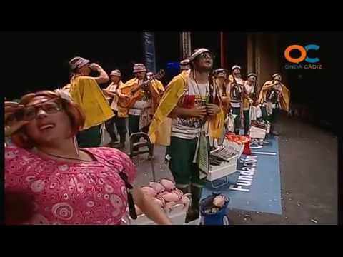 Sesión de Preliminares, la agrupación Los hippychanos actúa hoy en la modalidad de Chirigotas.