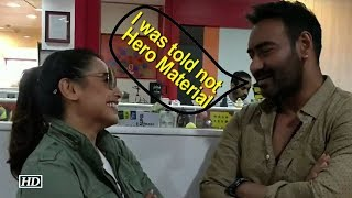When Ajay Devgn was told: Ordinary looking & not Hero Material - IANSLIVE