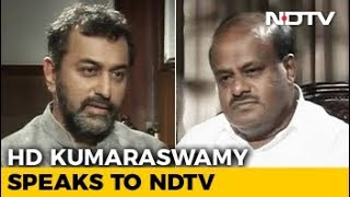 """No Problem In Our Coalition Government"", HD Kumaraswamy Tells NDTV - NDTV"