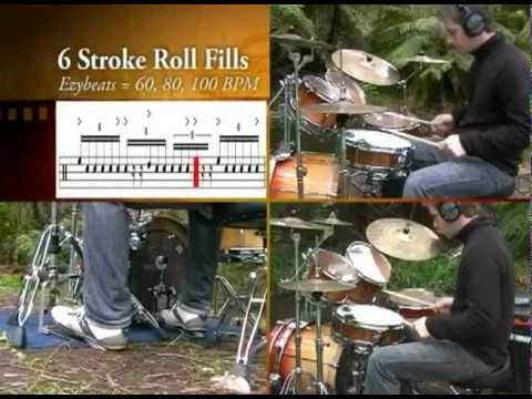 Outdoor Drum Lessons - 6 Stroke Roll Fill - Icanplaydrums.com