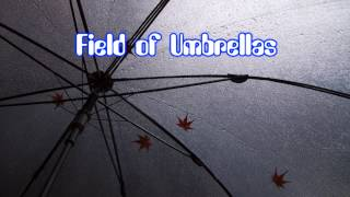 Royalty Free :Field of Umbrellas