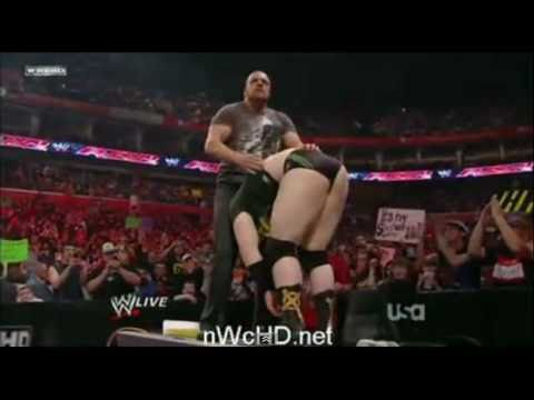 WWE Raw 2/28/11 Part 1/11 - Triple H Returns To Monday Night Raw
