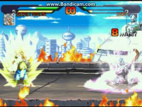 Dragon Ball AF M U G E N-Goku SSJ5 vs Ize