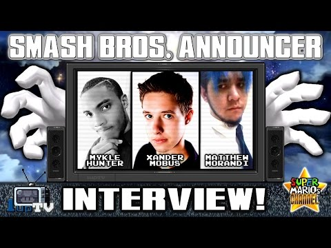 1upTV: Interview with the Smash Bros. 4 Announcer! (Xander Mobus)