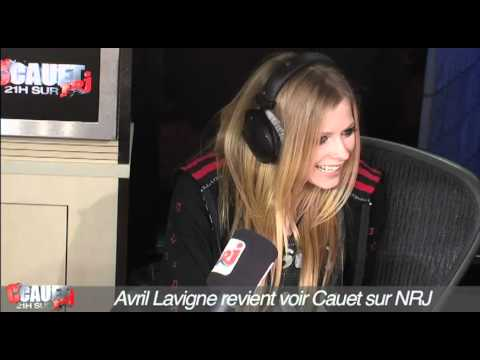 Avril Lavigne revient voir Cauet sur NRJ