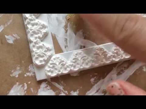 Как сделать фактурную рамку, своими руками