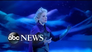 Disney's 'Frozen' makes its debut on Broadway - ABCNEWS