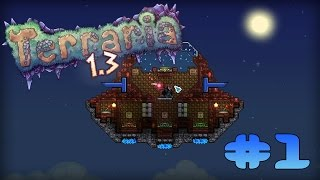 Terraria 1.3.0.8 Прохождение карт: #1 Echoes of the Lost World