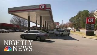 Gas Prices Way Up For First Time In Months | NBC Nightly News - NBCNEWS
