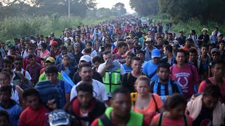 'This is the biggest caravan in the history of caravans' - WASHINGTONPOST