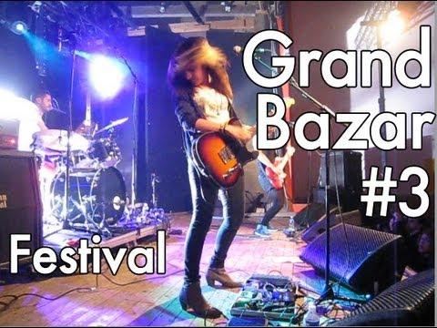 Grand Bazar (festival) #3 - Toybloïd / Sticky Boys / Chateau Brutal