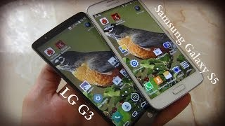 LG G3 или Samsung Galaxy S5? Объективное Сравнение / Арстайл /