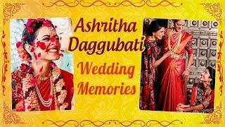 Venkatesh Daggubati Daughter Ashritha Wedding Unseen Moments | Samantha Akkineni | RANA - RAJSHRITELUGU