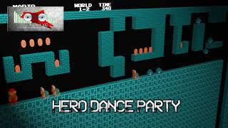 Royalty Free Hero Dance Party