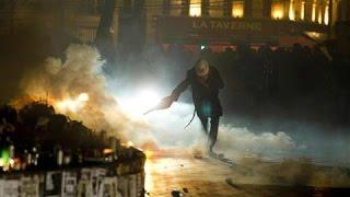 Police Use Tear-Gas on Labor Reform Protestors in Paris - WSJDIGITALNETWORK