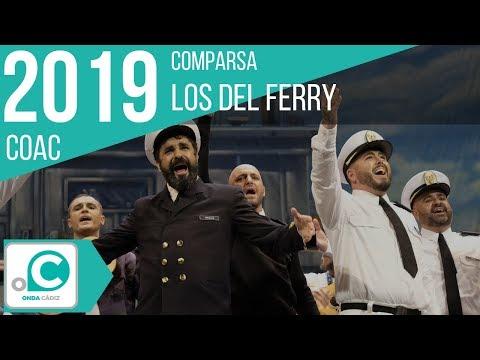 La agrupación Los del ferry llega al COAC 2019 en la modalidad de Comparsas. Primera actuación de la agrupación para esta modalidad.