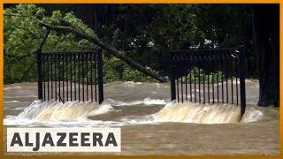 🇺🇸 Florence downgraded to tropical depression, still poses threat l Al Jazeera English - ALJAZEERAENGLISH