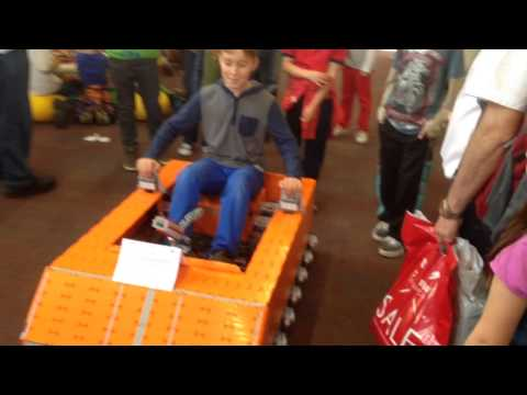 LEGO MINDSTORMS ATV in action @Steam