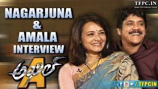 Nagarjuna & Amala Interview about Akhil Debut Movie   TFPC - TFPC