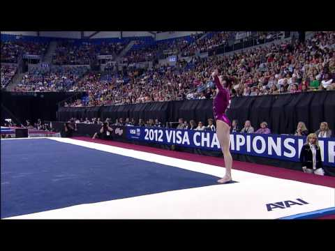 McKayla Maroney - Floor - 2012 Visa Championships - Sr. Women - Day 1