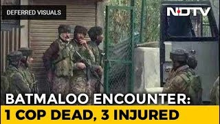 Policeman Killed As Encounter Breaks Out In Srinagar, Gunfight Going On - NDTV