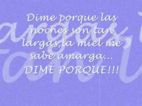 Dime Porque Kumbia Kings