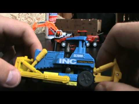 Matchbox Real Working Rigs: MBX Bulldozer