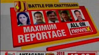 Under a shadow of Maoist threat, Chhattisgarh goes to polls - NEWSXLIVE