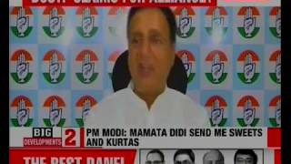 Congress Randeep Surjewala: PM Narendra Modi trying to be better actor than Akshay Kumar - NEWSXLIVE