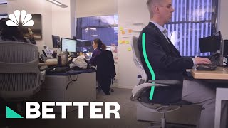 A Better Way To Sit At Your Desk | Better | NBC News - NBCNEWS
