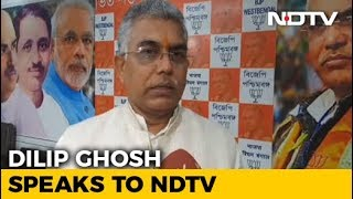 We Want Amit Shah To Contest From Bengal: State BJP Chief Dilip Ghosh - NDTV
