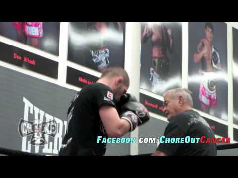 khabib Nurmagomedov training for UFC on FOX 11 by ChokeOuT Cancer