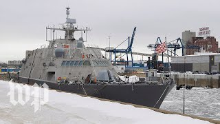 New $440M Navy ship stuck in Canada - WASHINGTONPOST