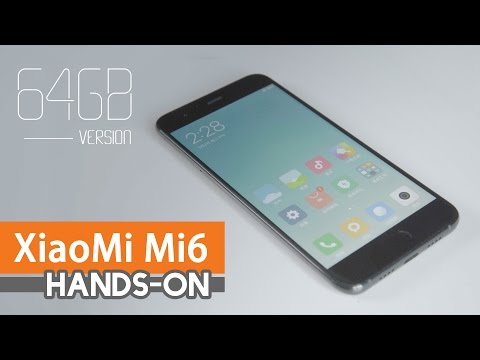 New arrival | XiaoMi Mi6 hands-on |Banggood.com