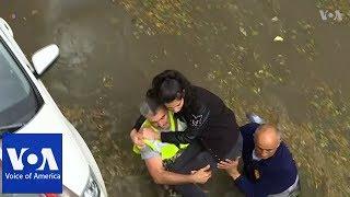 Flash floods leave bus passengers stranded in Ankara - VOAVIDEO