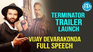 Hero Vijay Devarakonda Full Speech || TERMINATOR Telugu Movie Trailer Launch || iDream Movies - IDREAMMOVIES