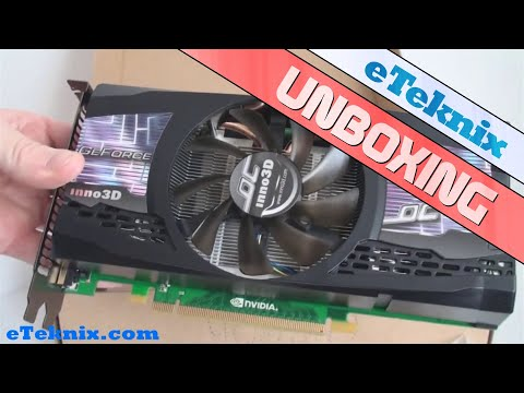 Inno3D GeForce GTX 460 OC 1GB Graphics Card Unboxing Video