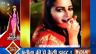 Divyanka Tripathi returns to Yeh Hai Mohabbatein sets after birthday celebration - INDIATV