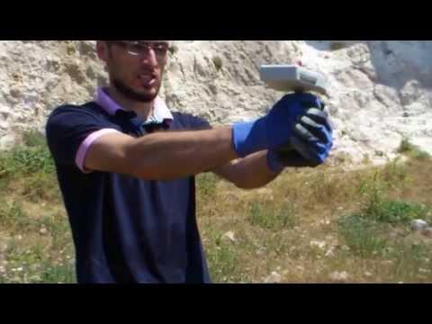 Gladiatör Alan Tarama Cihazı / 50 cm. derinlik testi.