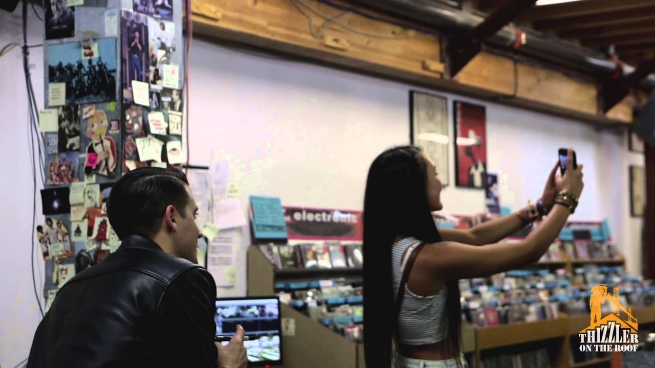 G-Eazy - These Things Happen in-store at Rasputin Music, Berkeley (Video)