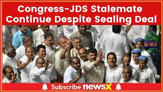 Congress-JDS Stalemate Continue To Despite Sealing Deal For Lok Sabha Elections 2019 - NEWSXLIVE