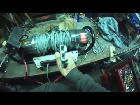 Repairing A Mile Marker Winch