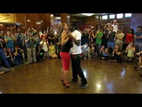 Enah and Isabelle Kizomba Demonstration at the 2014 Los Angeles Zouk Congress