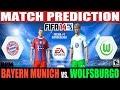 FIFA 14: Bayern Munich vs. Wolfsburgo Match Prediction Fecha #1 Bundesliga