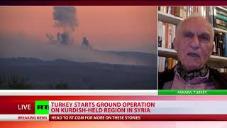Turkish planes bomb Syrian Kurdish targets as Ankara-backed rebels enter Afrin - RUSSIATODAY
