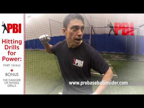 Baseball Hitting Drills for More Power - Part 1, Intro