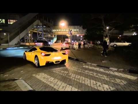 Ferrari 458 Italia Acceleration in Dubai, U.A.E Full HD!!!