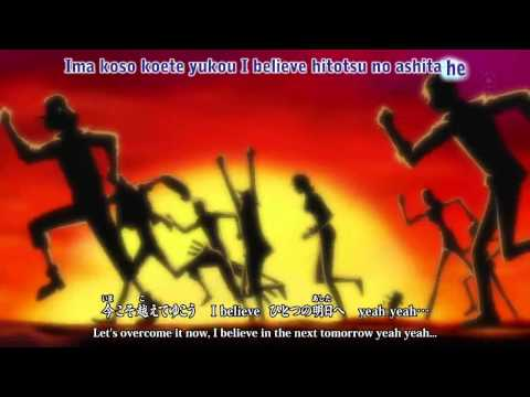 One Piece Op Ost - Share The World by Tohoshinki (Eng Sub) HD