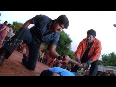 Mass Movie || Nagarjana Action Scene || Narajuna, Jyothika